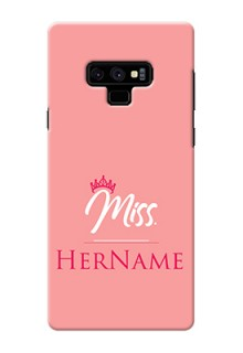 Galaxy Note9 Custom Phone Case Mrs with Name