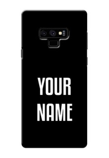 Galaxy Note9 Your Name on Phone Case