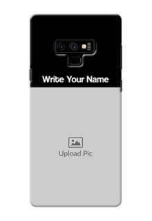 Galaxy Note9 Photo with Name on Phone Case