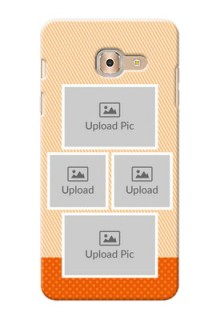 Samsung Galaxy On Max Bulk Photos Upload Mobile Case  Design