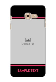 Samsung Galaxy On Max Photo With Text Mobile Case Design