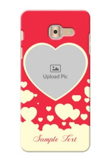 Samsung Galaxy On Max Love Symbols Mobile Case Design