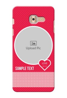 Samsung Galaxy On Max Pink Design Pattern Mobile Case Design