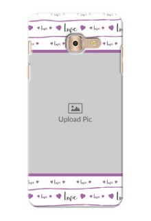 Samsung Galaxy On Max Couples Mobile Case Design