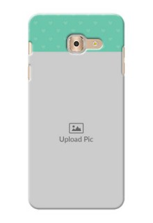 Samsung Galaxy On Max Lovers Picture Upload Mobile Cover Design
