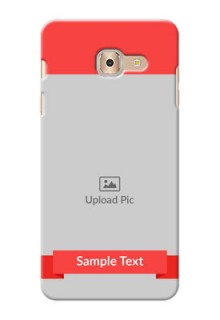 Samsung Galaxy On Max Simple Mobile Case Design