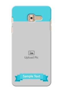 Samsung Galaxy On Max Simple Mobile Back Cover Design