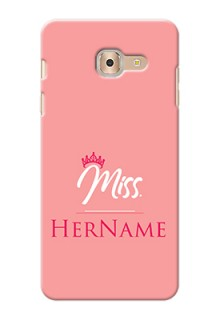 Galaxy On Max Custom Phone Case Mrs with Name