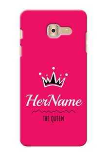 Galaxy On Max Queen Phone Case with Name
