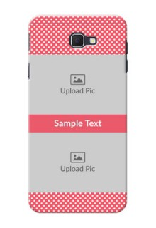 Samsung Galaxy On Nxt White Dots Mobile Case  Design