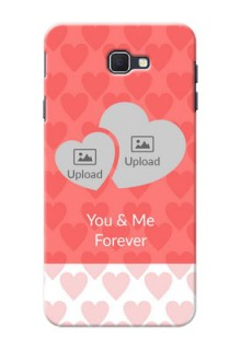 Samsung Galaxy On Nxt Couples Picture Upload Mobile Cover Design