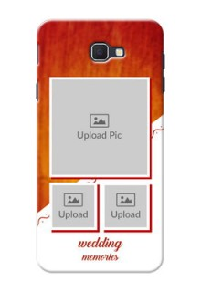 Samsung Galaxy On Nxt Wedding Memories Mobile Cover Design