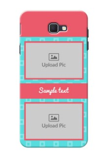 Samsung Galaxy On Nxt Pink And Blue Pattern Mobile Case Design