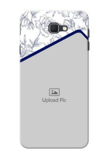 Samsung Galaxy On Nxt Floral Design Mobile Cover Design