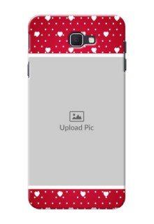 Samsung Galaxy On Nxt Beautiful Hearts Mobile Case Design