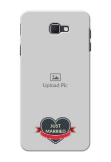Samsung Galaxy On Nxt Just Married Mobile Cover Design