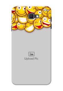 Samsung Galaxy On Nxt smileys pattern Design Design