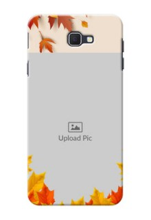 Samsung Galaxy On Nxt autumn maple leaves backdrop Design
