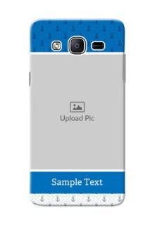 Samsung Galaxy On5 (2015) Blue Anchors Mobile Case Design