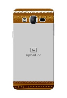 Samsung Galaxy On5 (2015) Friends Picture Upload Mobile Cover Design