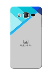 Samsung Galaxy On5 (2015) Blue Abstract Mobile Cover Design