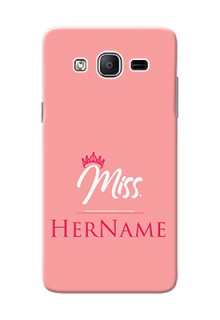 Galaxy On5 (2015) Custom Phone Case Mrs with Name