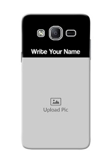 Galaxy On5 (2015) Photo with Name on Phone Case