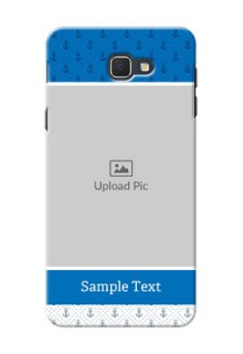 Samsung Galaxy On5 (2016) Blue Anchors Mobile Case Design
