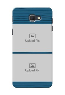 Samsung Galaxy On5 (2016) Blue Pattern Mobile Case Design