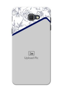 Samsung Galaxy On5 (2016) Floral Design Mobile Cover Design