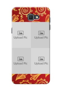 Samsung Galaxy On5 (2016) 4 image holder with mandala traditional background Design
