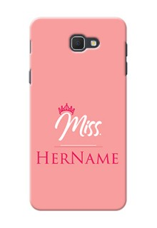 Galaxy On5 (2016) Custom Phone Case Mrs with Name