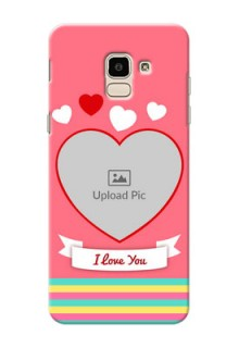 Samsung Galaxy On6 (2018) I Love You Mobile Cover Design