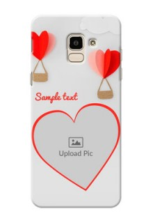 Samsung Galaxy On6 (2018) Love Abstract Mobile Case Design