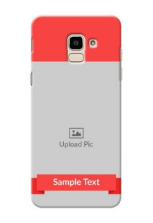 Samsung Galaxy On6 (2018) Simple Mobile Case Design