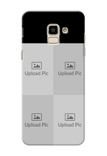 Samsung Galaxy On6 2018 4 Image Holder on Mobile Cover