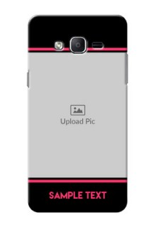 Samsung Galaxy On7 (2015) Photo With Text Mobile Case Design