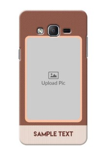 Samsung Galaxy On7 (2015) Simple Photo Upload Mobile Cover Design