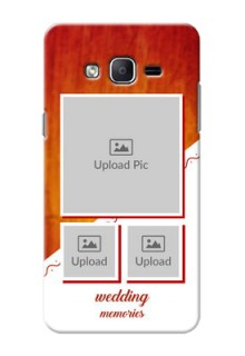 Samsung Galaxy On7 (2015) Wedding Memories Mobile Cover Design