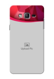 Samsung Galaxy On7 (2015) Red Abstract Mobile Case Design