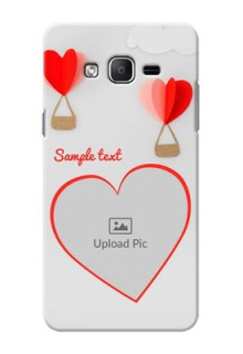 Samsung Galaxy On7 (2015) Love Abstract Mobile Case Design