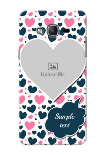 Samsung Galaxy On7 (2015) Colourful Mobile Cover Design