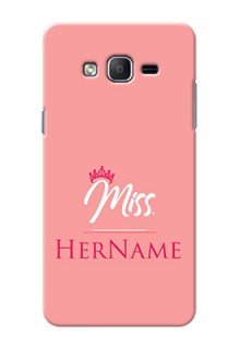Galaxy On7 (2015) Custom Phone Case Mrs with Name