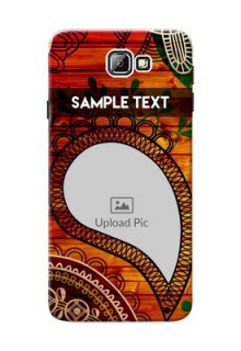 Samsung Galaxy On7 (2016) Colourful Abstract Mobile Cover Design