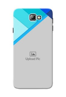 Samsung Galaxy On7 (2016) Blue Abstract Mobile Cover Design
