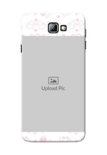 Samsung Galaxy On7 (2016) Flying Hearts Mobile Back Cover Design