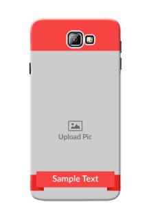 Samsung Galaxy On7 (2016) Simple Mobile Case Design