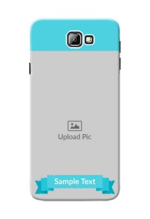 Samsung Galaxy On7 (2016) Simple Mobile Back Cover Design