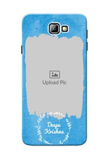 Samsung Galaxy On7 (2016) watercolour design with vintage floral Design