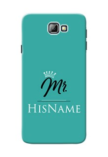 Galaxy On7 (2016) Custom Phone Case Mr with Name